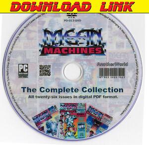 MEAN MACHINES Magazine Collection DOWNLOAD (Nintendo NES/Sega Mega Drive Games