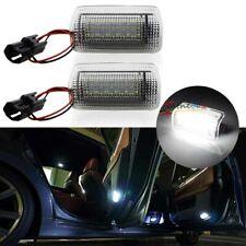 Xenon White LED Side Door Courtesy Light Lamps For Lexus IS ES LS RX GX LX, etc