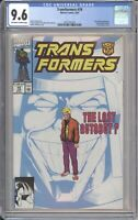 Marvel Comics TRANSFORMERS #79 CGC 9.6 NM (1991) White Pages