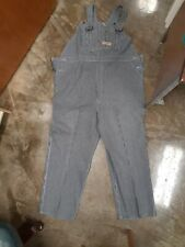 Vintage Big Mac Overalls Hickory Stripe 54x36