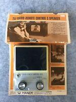 Vintage 60's / 70's, HANDY, TV/Radio Remote Control & Speaker, In Box