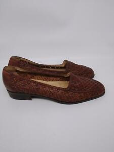 Ipanema Womens Brown Slip On Leather Comfort Loafer Flat Shoes Size 9.5M