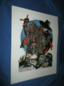 THE SHADOW Signed & Numbered Art Print by Mike Kaluta #276/750 (Pulp/OTR)