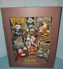 DISNEY  Mickey Mouse Through the Years StoryBook Christmas Ornament Set