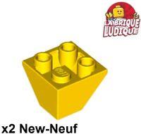 1x Windscreen 2x4x2 4284 Yellow//Jaune//Gelb Lego