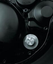 TT500 XT500 Zündkontroll Verschlussstopfen Alu natur, Ignition Inspection Cover