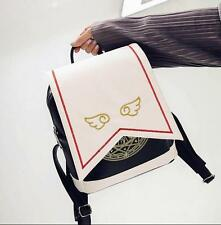 Hot Anime Card Captor Sakura Backpack Kinomoto Lolita Magic School Shoulder Bag