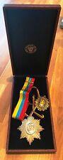 Venezuela Order of the Liberator Orden del Libertador Simon Bolivar Original Box