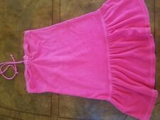 Juicy couture kids dress size 10 hot pink swim dress girls cover up bathing suit