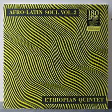 ETHIOPIAN QUINTET (MULATU) 'Afro-Latin Soul Vol. 2' 180g Vinyl LP NEW/SEALED