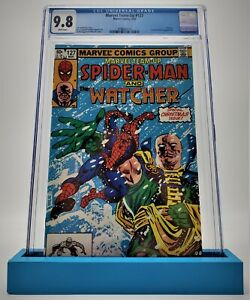 Marvel Team-Up #127, CGC 9.8 1983 White Pages Spider-Man and Power Man!