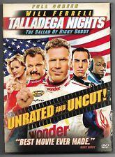 Talladega Nights: The Ballad of Ricky Bobby (DVD, 2006) Movie