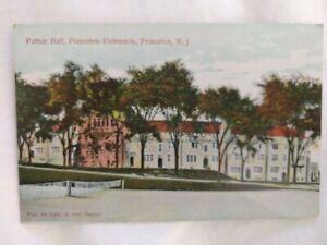 Early 1900s Postcard: Princeton University Patton Hall