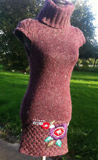 Robe, Pull  Manches courtes - DESIGUAL - Taille/Talla / Size S - Dress - Vintage