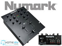 Numark M101USB 2 Channel All Purpose DJ Scratch Mixer with USB Black FREE P&P