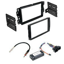 New listing Double Din Car Stereo Dash Chime Install Kit for Chevrolet Silverado 2008 - 2013