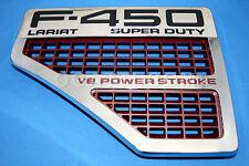 BRAND NEW OEM FORD TRIM VENT F-450 LARIAT S.D. V8 POWER STOKE FENDER LH  08-10