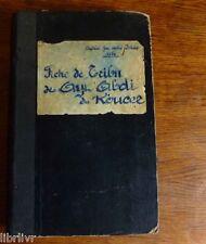 MAROC ATLAS Etude manuscrite géographie de la tribu des AYT-ABDI DU KOUCER