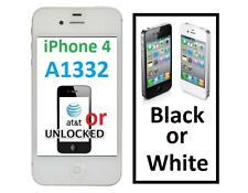 Apple iPhone 4 A1332 8gb to 32gb AT&T/T-Mobile/Unlocked Black or White