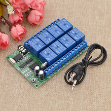 8CH DTMF AD22A08  Audio Decoder Smart Home Relay Controller Control Module New