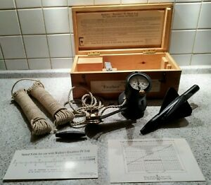 Walker's Excelsior Mark IV Patent Schiffslog Impeller & Kasten Nautical Ship Log