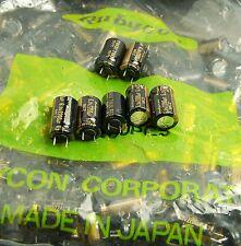 50pcs 2200uf 6.3v Electrolytic Capacitors Rubycon MCZ Low ESR 6.3v2200uf JAPAN