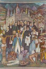Postcard of Juan Gorman Chapultepec Castle National History Museum