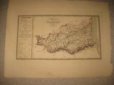 PyrÉnÉes-orientales Antiques Europe Maps Pyrenees-orientales 1878 Old Antique Map Plan Chart