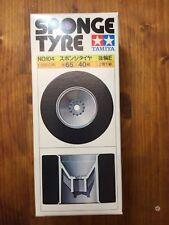 TAMIYA Vintage 1:10 SPONGE TYRE SET E 104 Felgen Reifen Tyres Rims