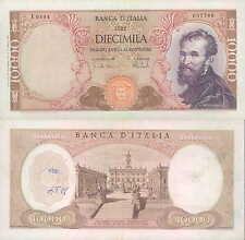 "10.000 lire 27/11/1973  ""Michelangelo"""