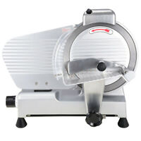 "Commercial Meat Slicer Stainless Steel 10"" Blade Cheese Food Electric Cutter"