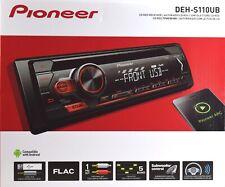 Pioneer Autoradio DEH-S110UB CD-Tuner mit RDS,MP3,USB,AUX,1DIN-Gerät