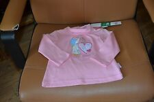 tee shirt neuf COL roule rose holly hobbie sarah kay 2 ans adorable
