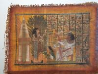 Rare Antique Ancient Egyptian Papyrus Priest Woship God Isis Health Cure 1760 BC