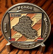RARE 31 of 31 OIF 2005 Rock of the Marne 3d Det 3d Plt 3d Inf  3d Sig Co Coin