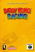 Diddy Kong Racing - Authentic Nintendo 64 (N64) Manual