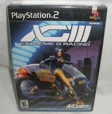 XGIII: Extreme G Racing (Sony PlayStation 2, 2001) Factory Sealed Black label