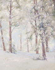 Palmer Walter The Forest In The Winter Print 11 x 14   #5375