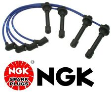 Honda NGK Japan Blue OEM Spark Plug Wire Set HE76 Civic D16