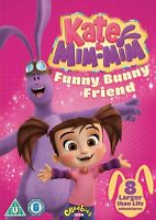 Kate & Mim-Mim - Funny Bunny Friend [DVD] BRAND NEW & SEALED DVD - FREE DELIVERY