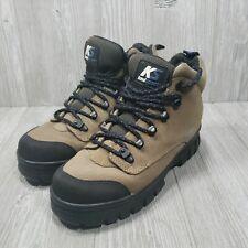 Keds Womens Sport Boots Tan & Black Climbing Hiking Walking Size 7.5