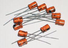 15 uF 25 Volt Capacitor Alum Electrolytic - 10 each