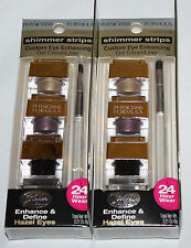 Lot 2 Physicians Formula Shimmer Strips Gel CreamLiner #7420 Glam Hazel Eyes **