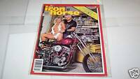 JAN 1987 IRON HORSE motorcycle magazine