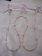 !SEXY ROSE CRYSTAL READING GLASSES made with Swarovski  & CHAIN 2.00