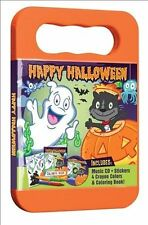 Happy Halloween ~ MUSIC CD- CRAYON COLORS - COLORING BOOK ~ NEW - FREE SHIPPING~