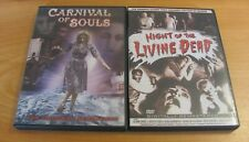 Carnival of Souls (Dvd, 2002) & Night Of The Living Dead 2 Movies Horror
