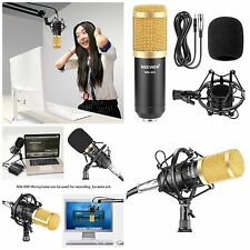 Condenser Microphone Package Studio Recording Voice Music Audio Professional New