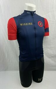 RAPHA Team WIGGINS Short Sleeve Jersey & Bib Shorts Cycling Kit SM EXCELLENT