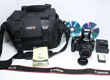 CANON EOS Rebel T3 + EF 35-80mm III lens +Bag, Software, Charger, battery